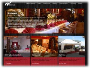 Strona www dla restauracji Moccadoro Mikołów