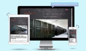 witryna internetowa CMS